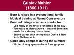 gustav mahler 1860 1911