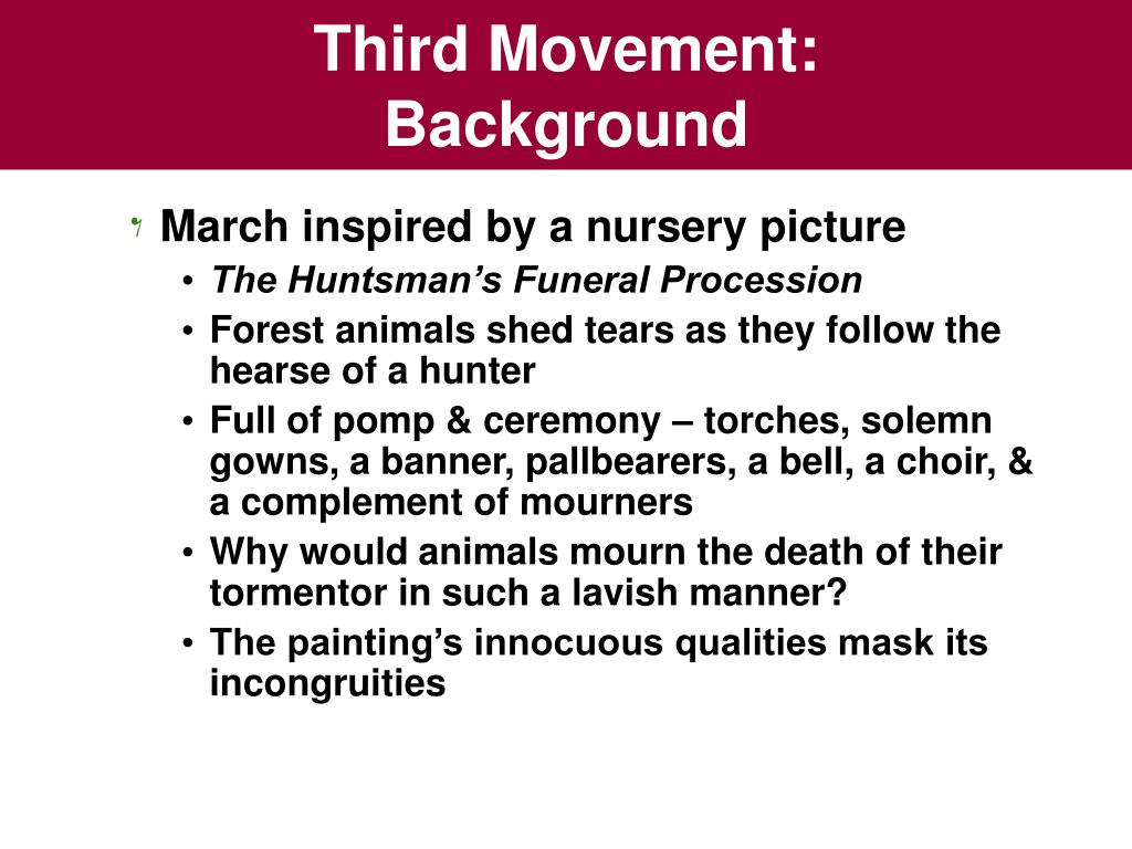 Third Movement: