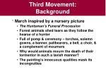 third movement background