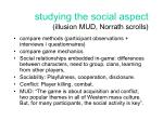 studying the social aspect illusion mud norrath scrolls