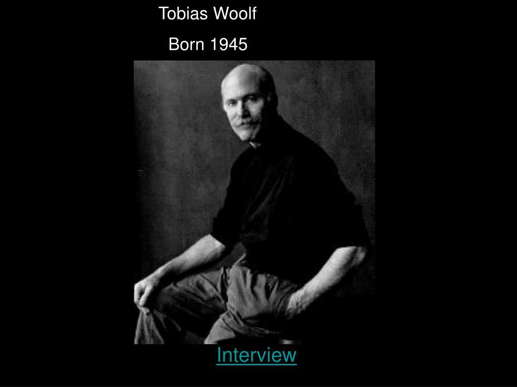 Tobias Woolf