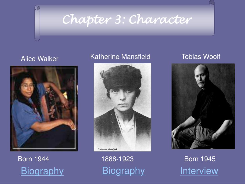 Chapter 3: Character