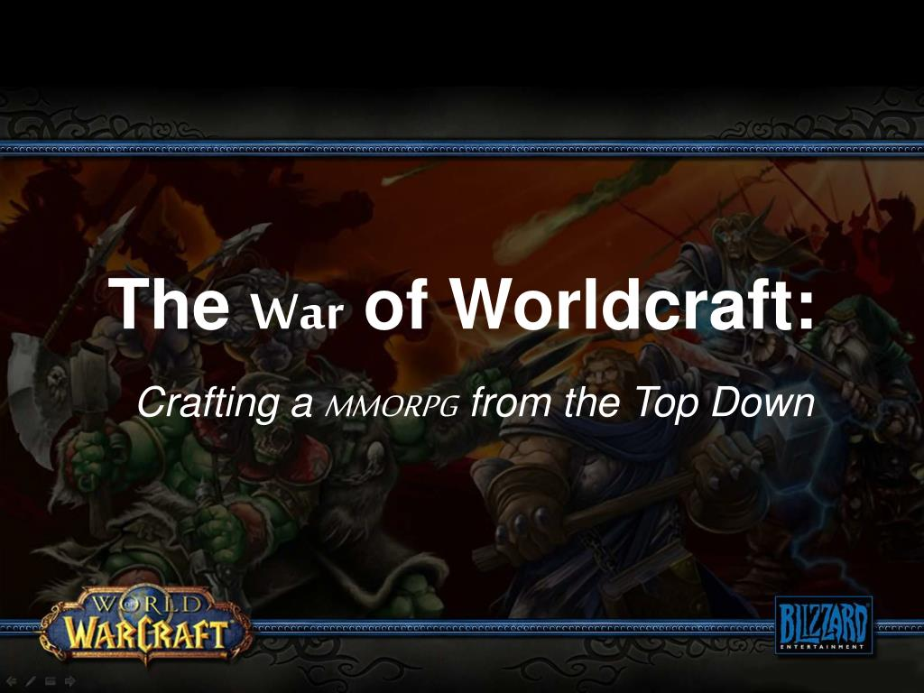 the war of worldcraft