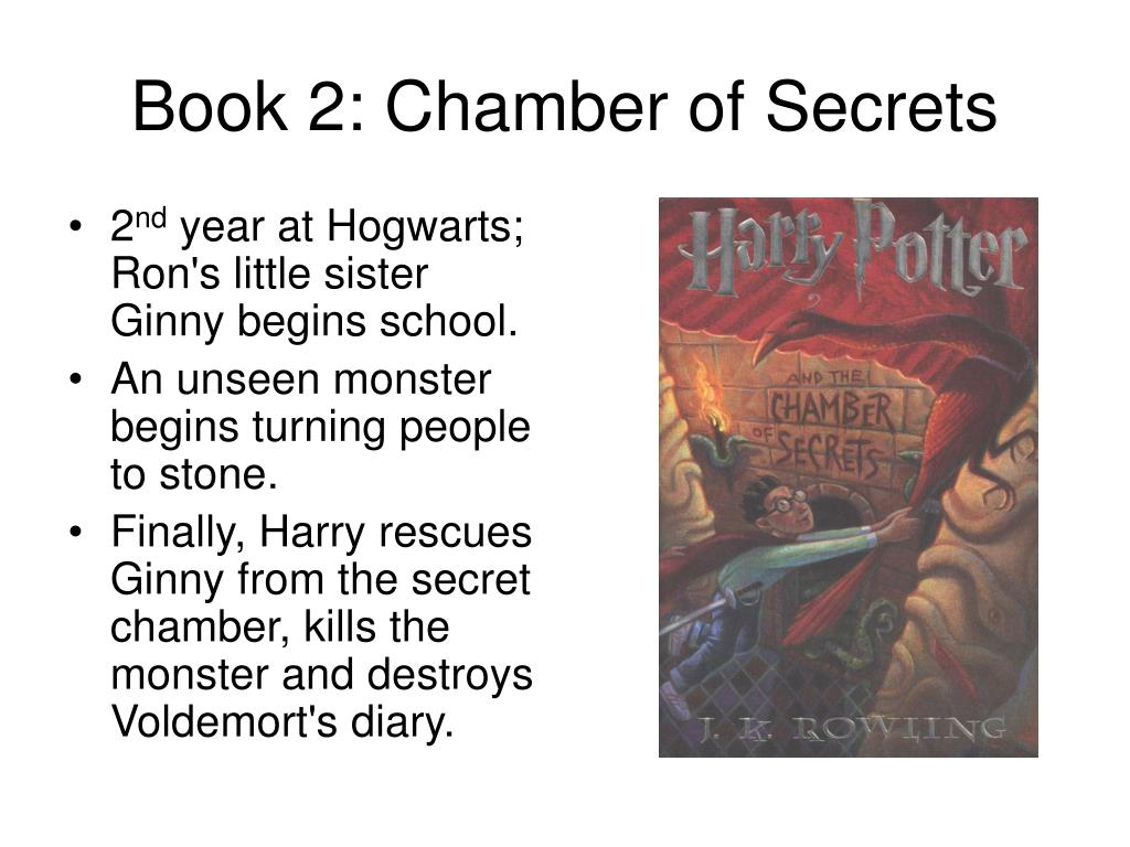 Book 2: Chamber of Secrets