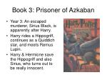 book 3 prisoner of azkaban