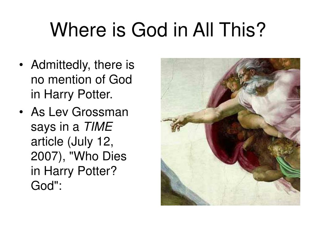 Where is God in All This?
