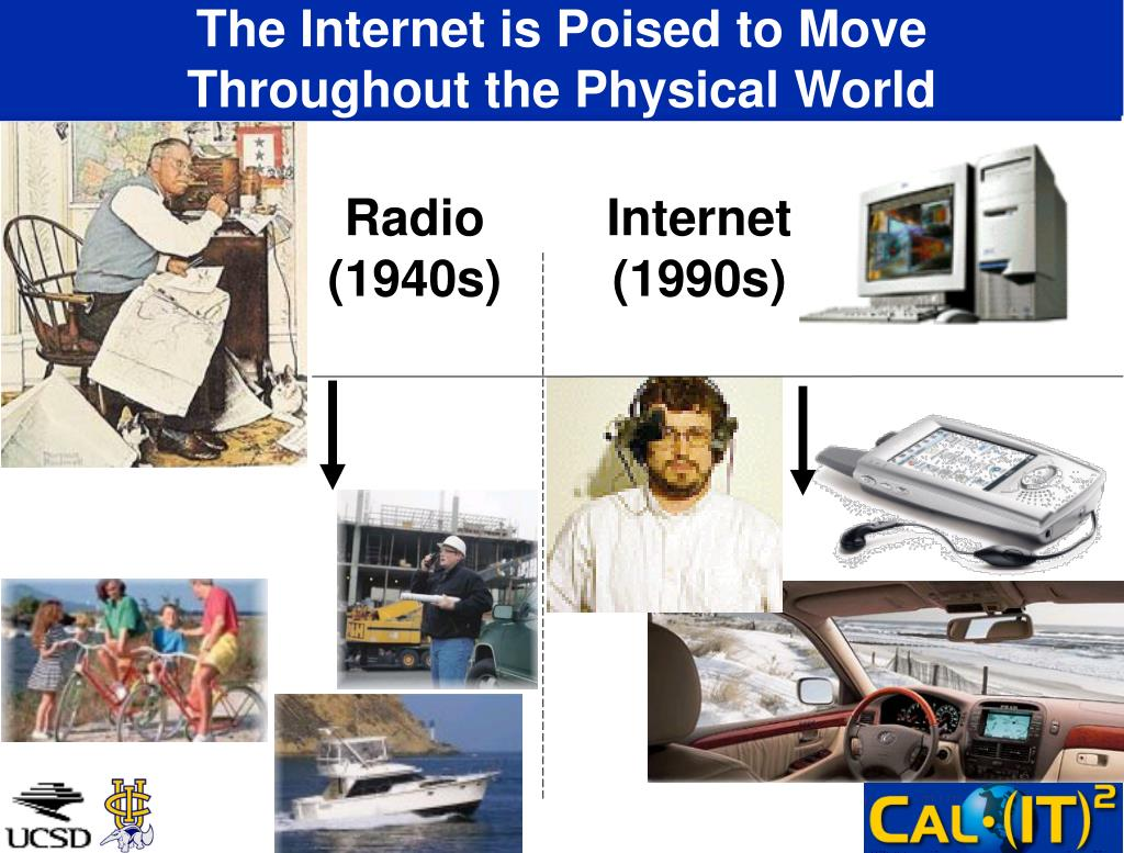 The Internet is Poised to Move