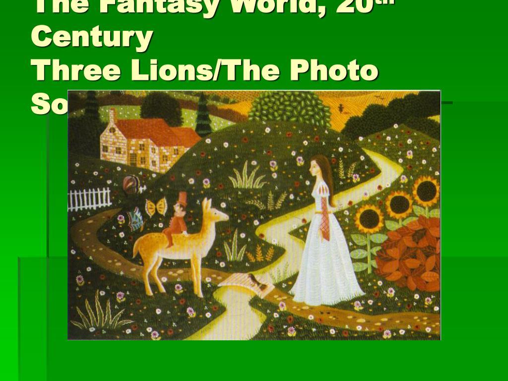 The Fantasy World, 20
