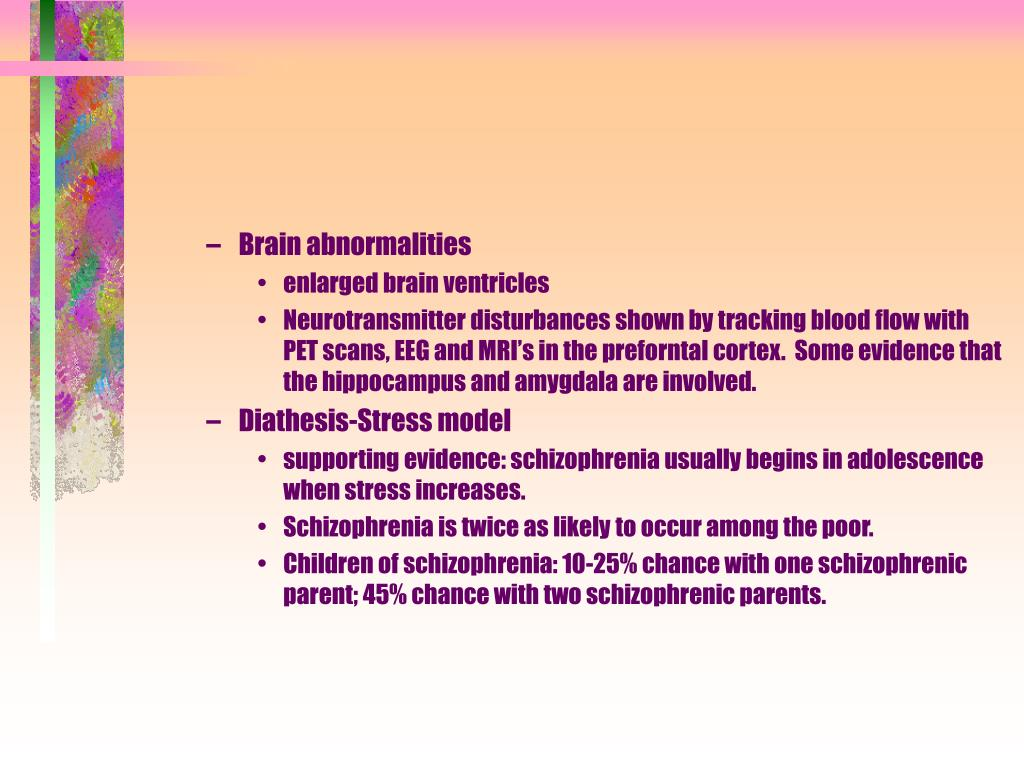 Brain abnormalities