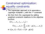 constrained optimization equality constraints5