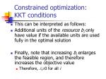 constrained optimization kkt conditions28