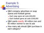 example 5 advertising