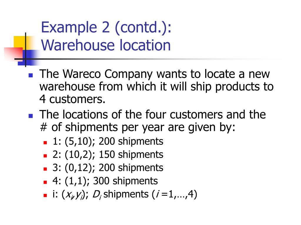 Example 2 (contd.):