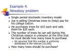 example 4 newsboy problem