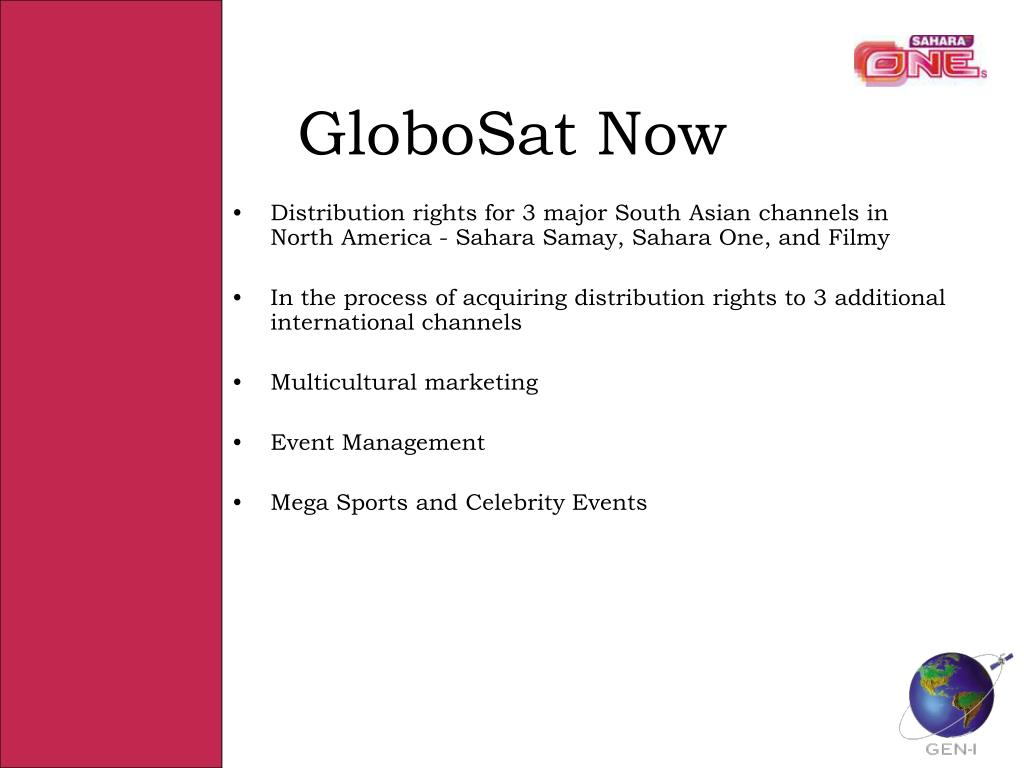 GloboSat Now