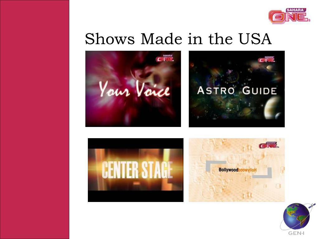 Shows Made in the USA