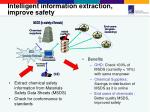 intelligent information extraction improve safety