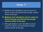 item 7