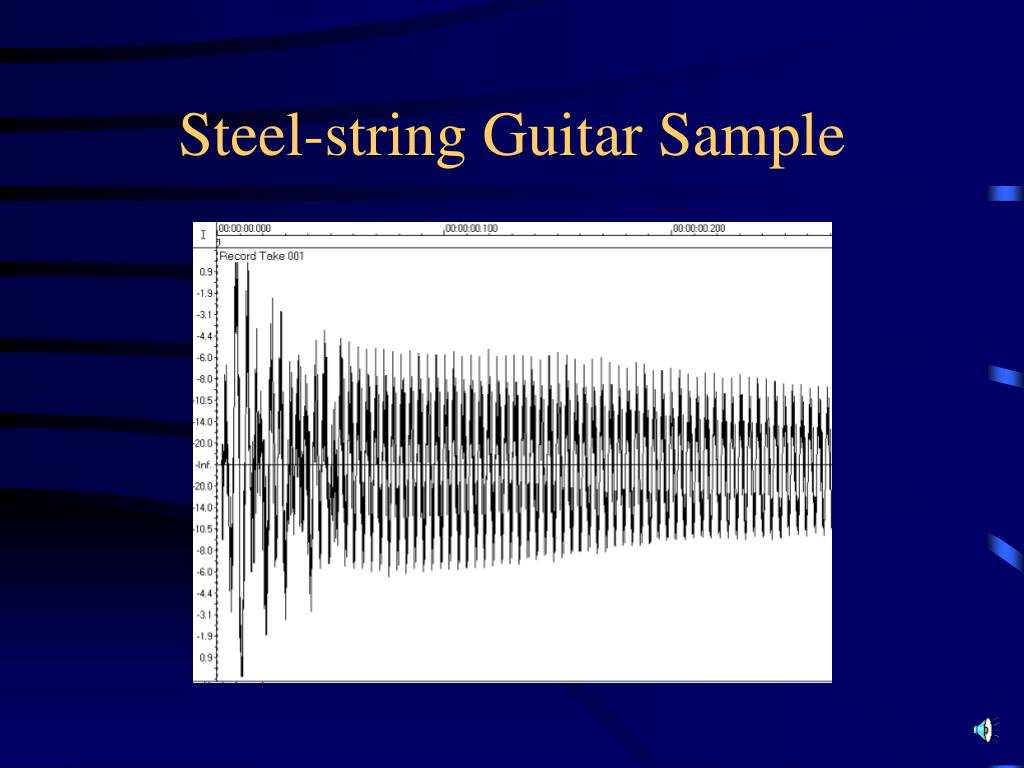 Steel-string Guitar Sample