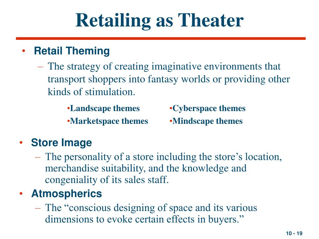 Retailing as Theater