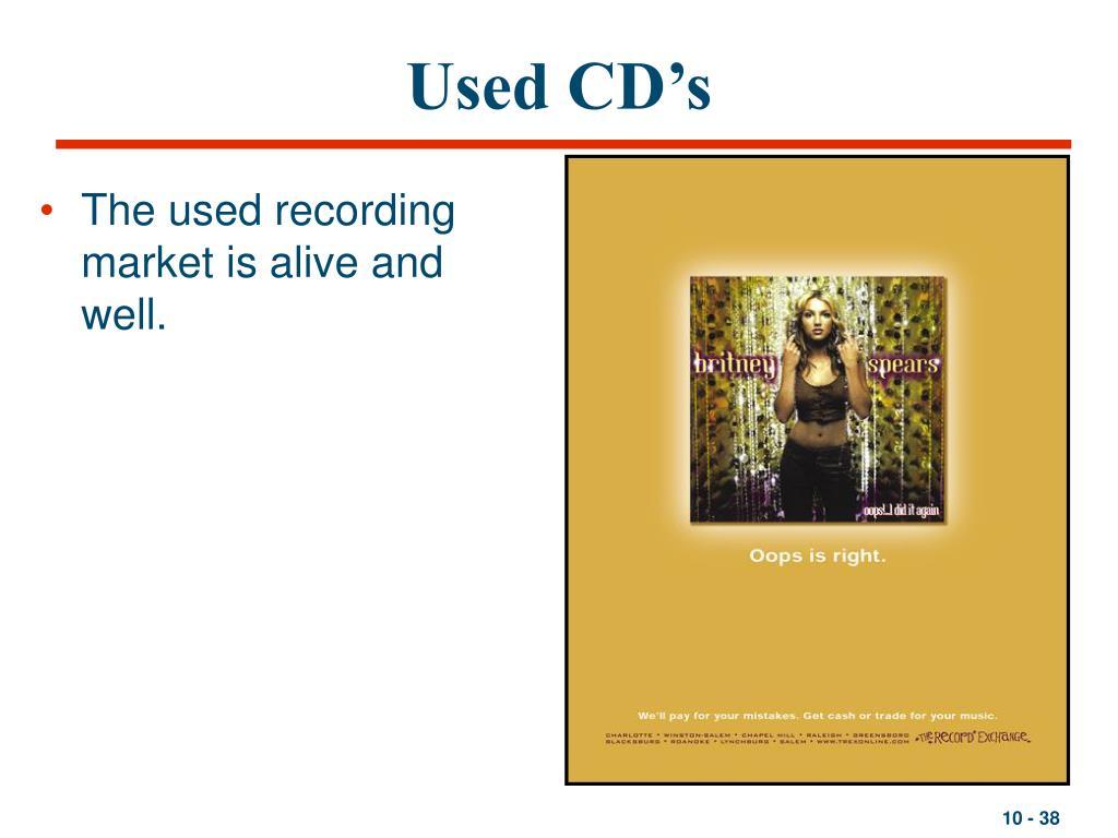Used CD's