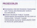 prosed rler