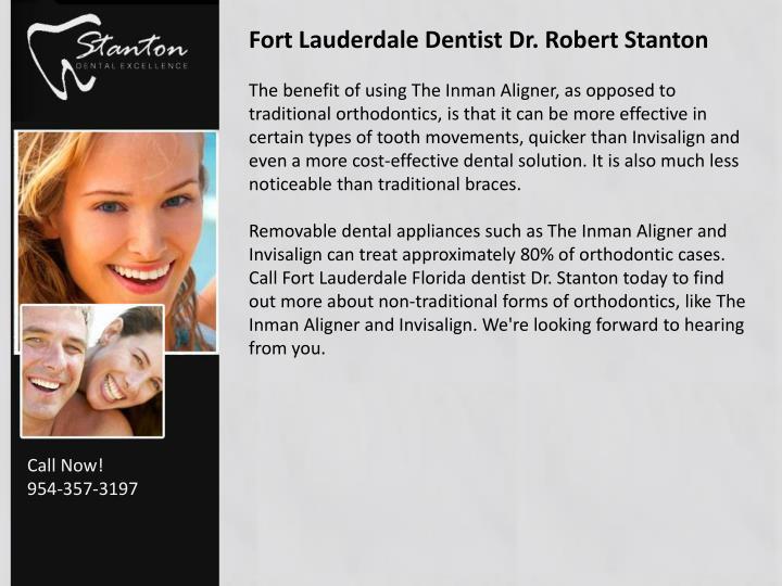 Fort Lauderdale Dentist Dr. Robert Stanton