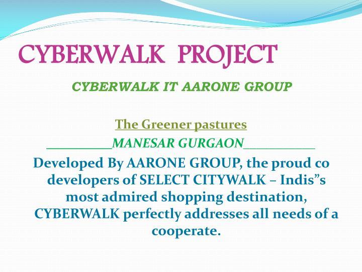 Cyberwalk project