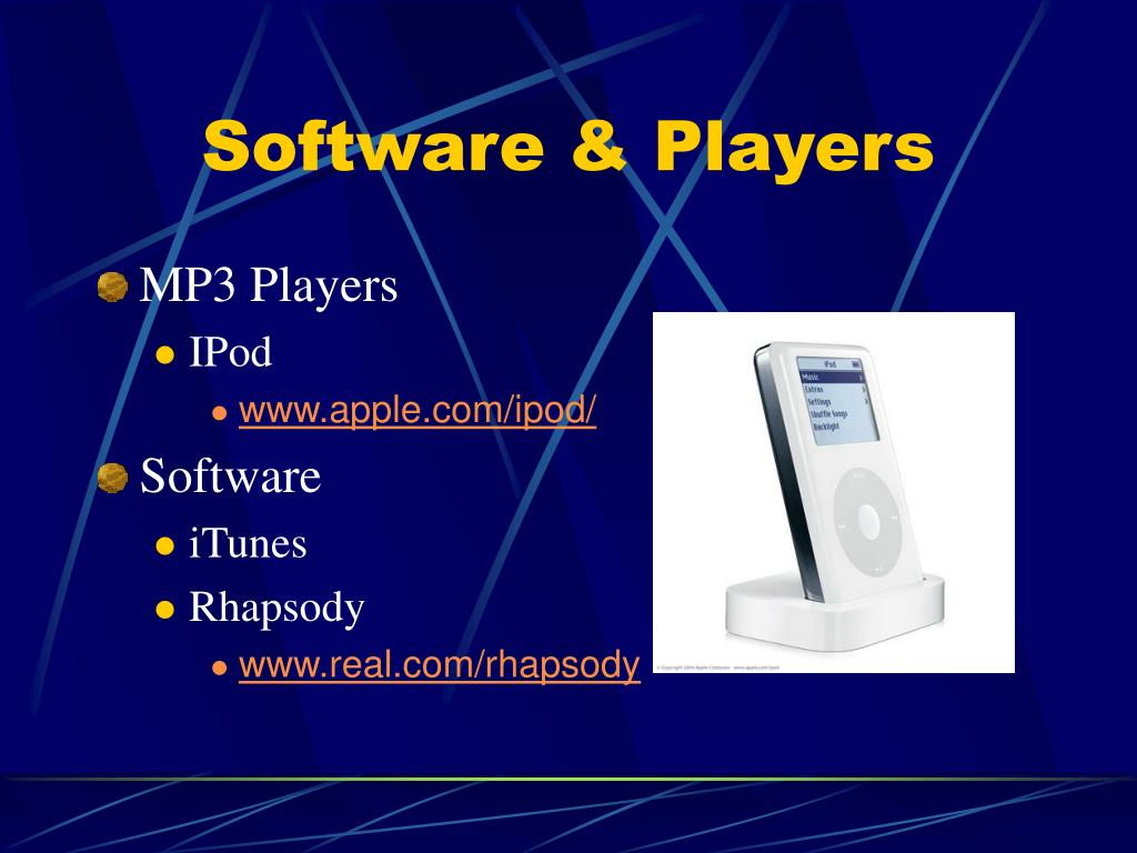 Software & Players