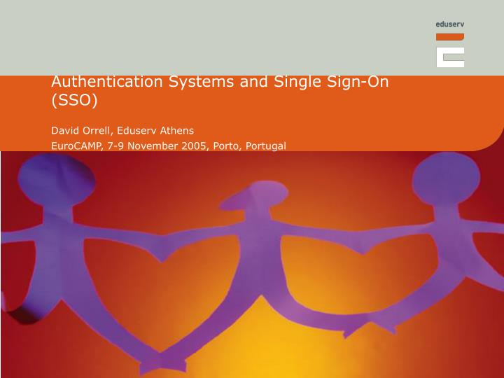 authentication systems and single sign on sso n.