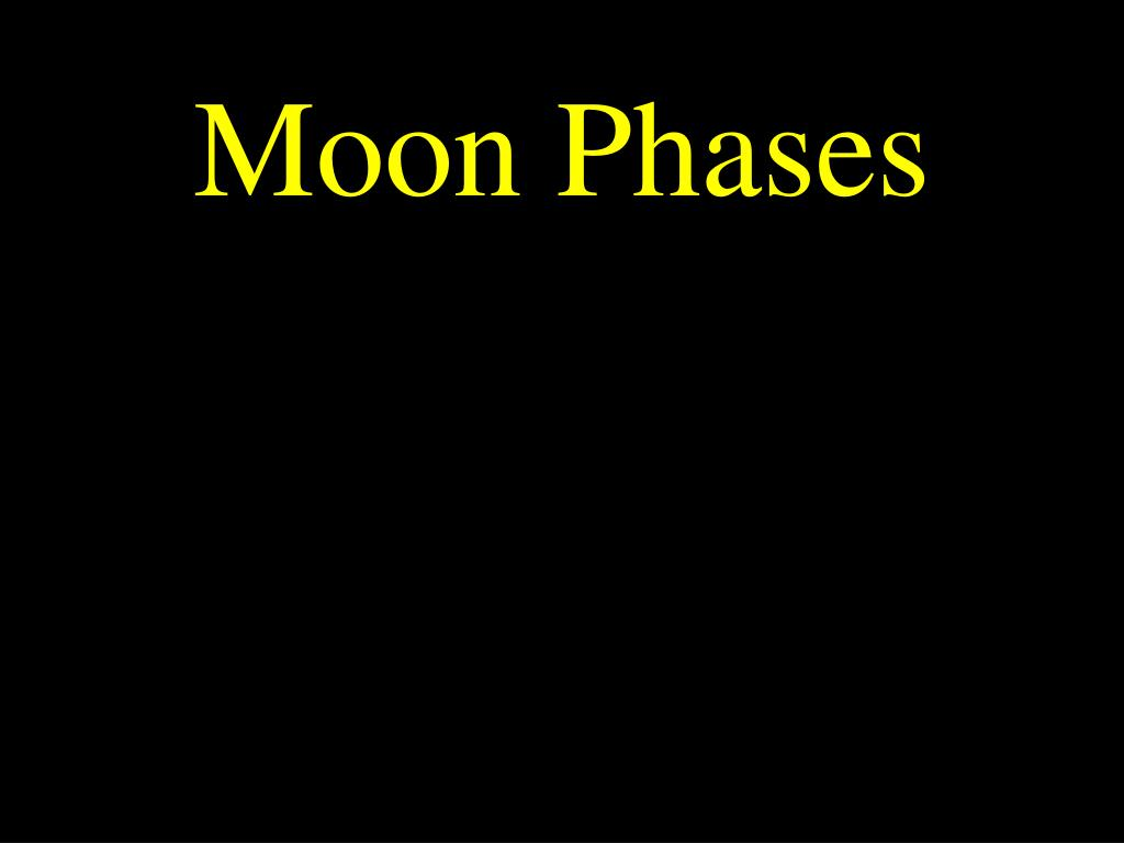 moon phases l.