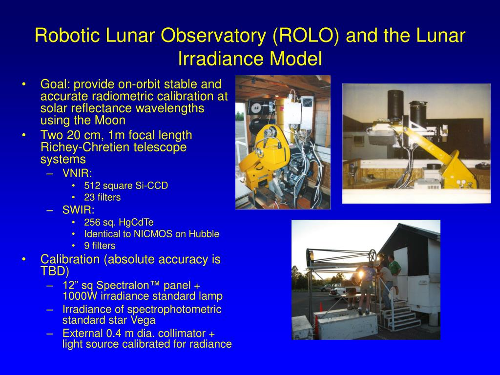 Robotic Lunar Observatory (ROLO) and the Lunar Irradiance Model