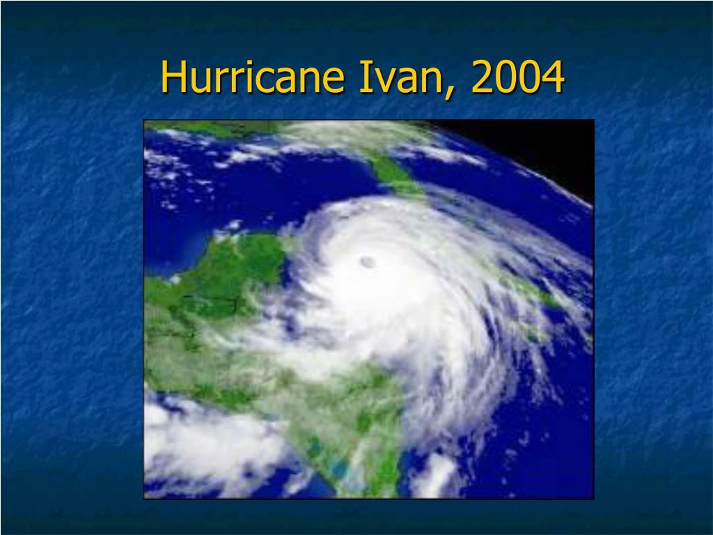 Hurricane Ivan, 2004