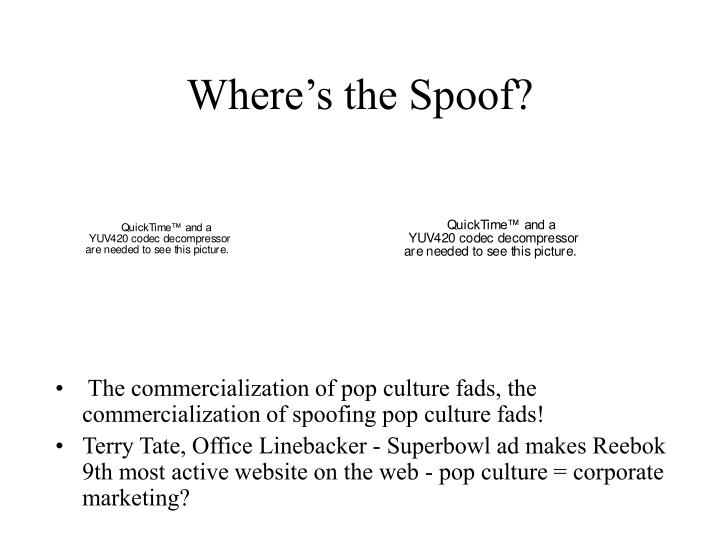 Where's the Spoof?