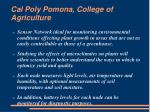 cal poly pomona college of agriculture