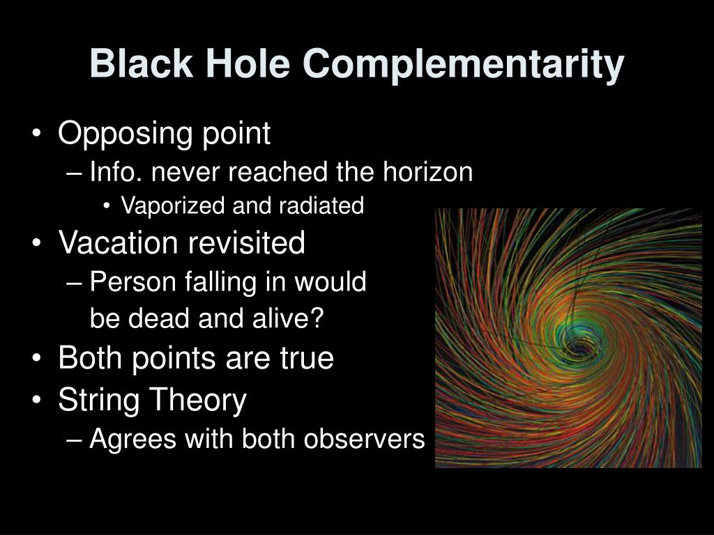 Black Hole Complementarity