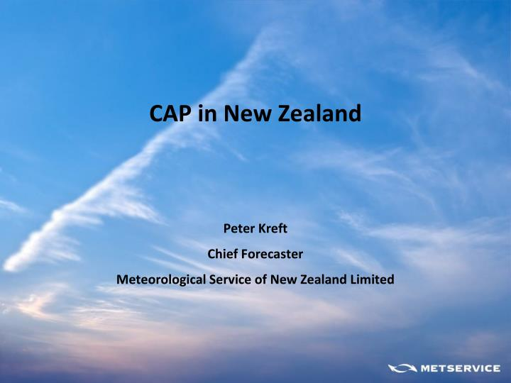 peter kreft chief forecaster meteorological service of new zealand limited n.