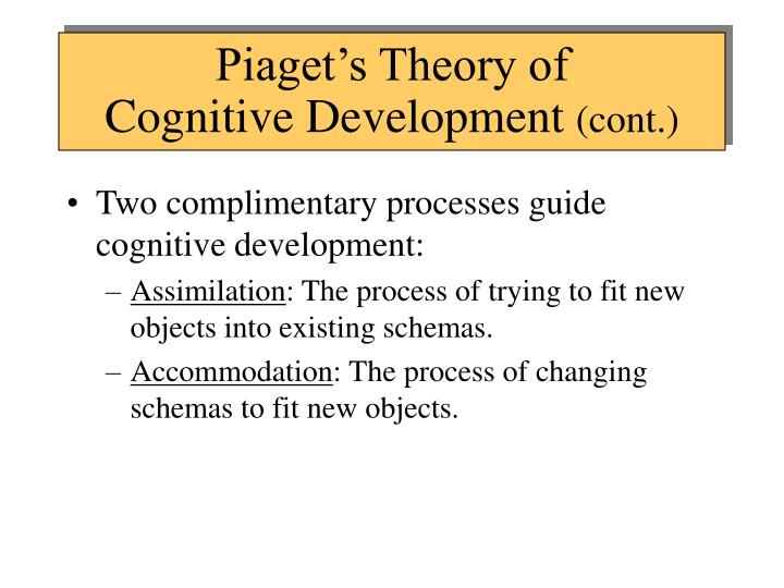 Piaget's Theory of