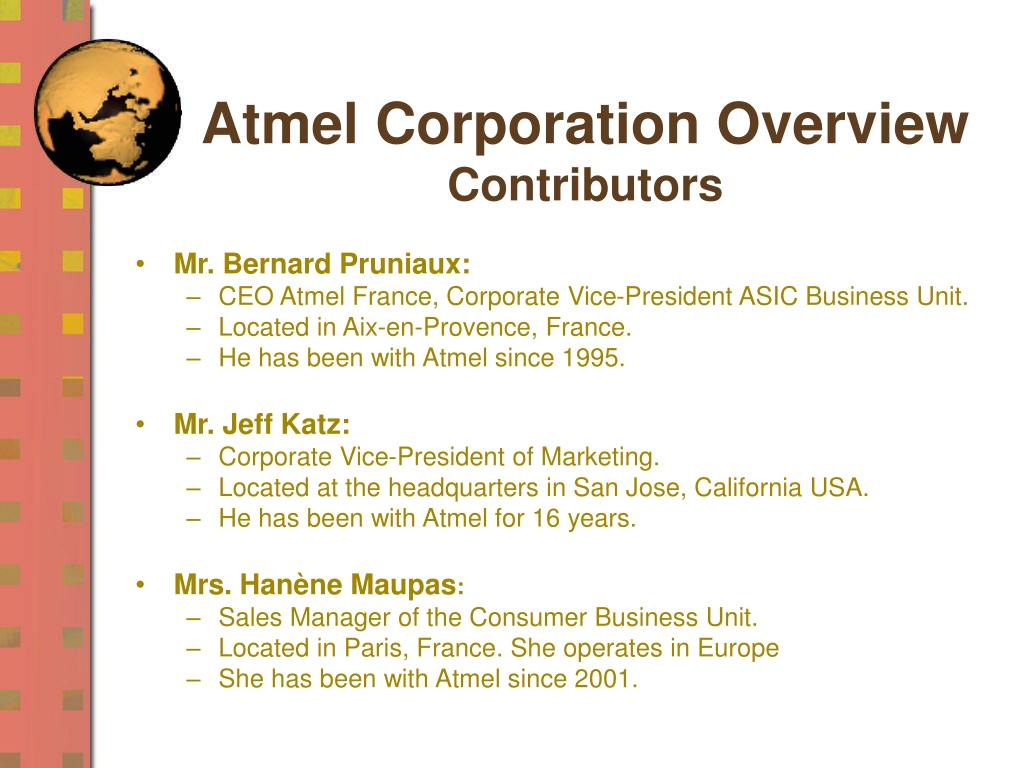 Atmel Corporation Overview