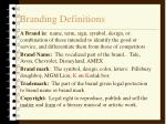 branding definitions