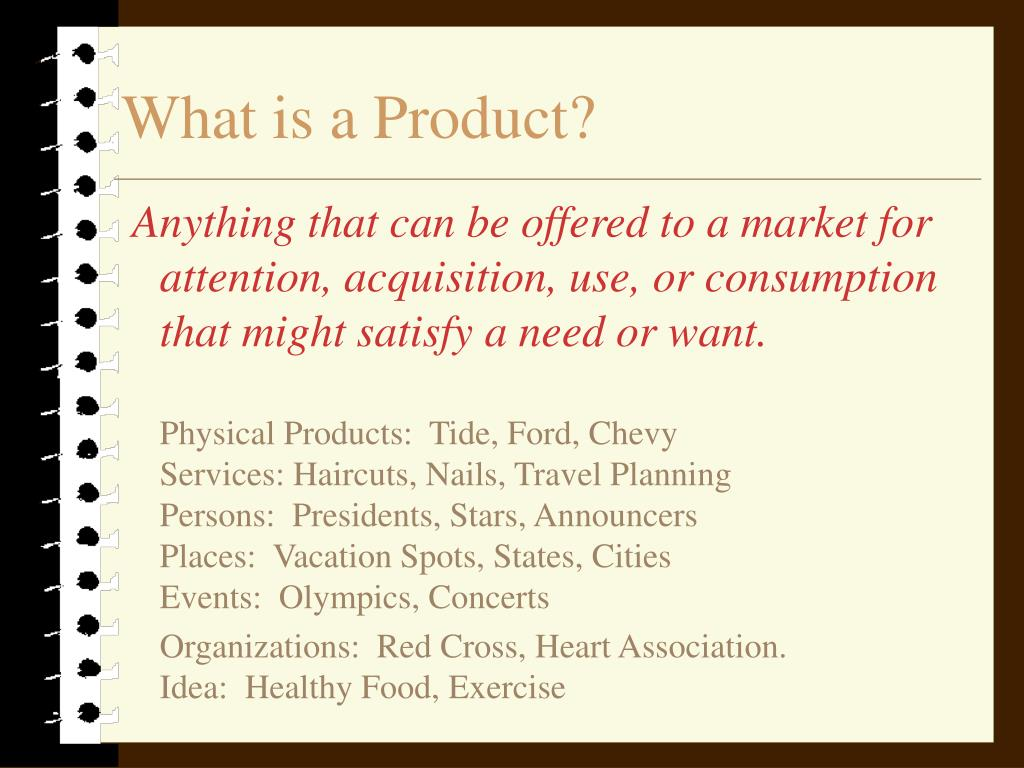 what is a product l.