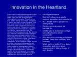 innovation in the heartland