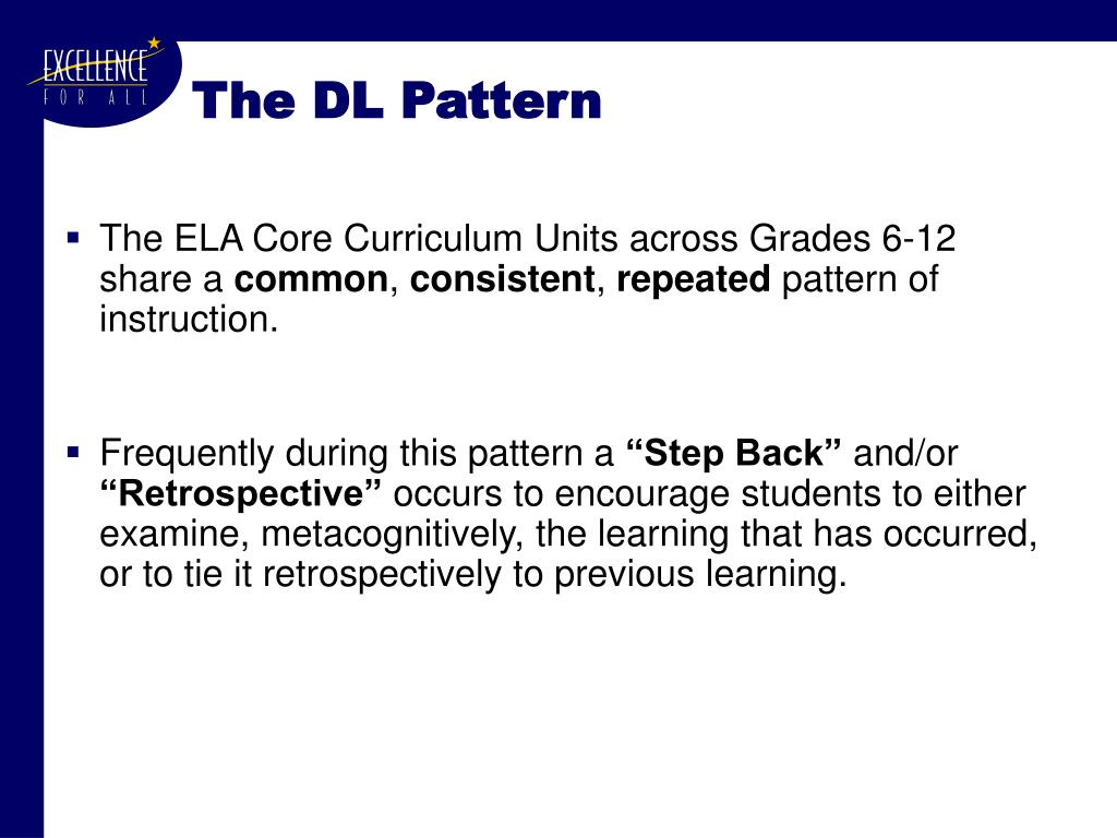 The DL Pattern