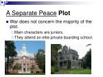 a separate peace plot