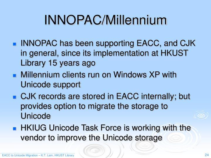 INNOPAC/Millennium