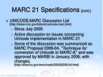 marc 21 specifications cont3