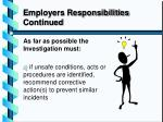 employers responsibilities continued1