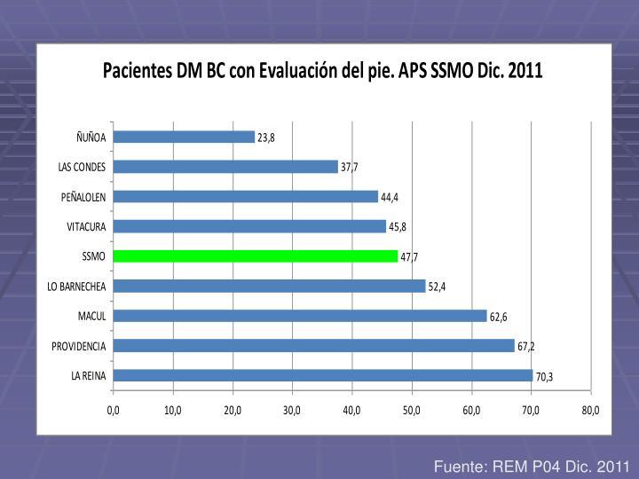 Fuente: REM P04 Dic. 2011