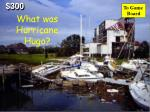 what was hurricane hugo