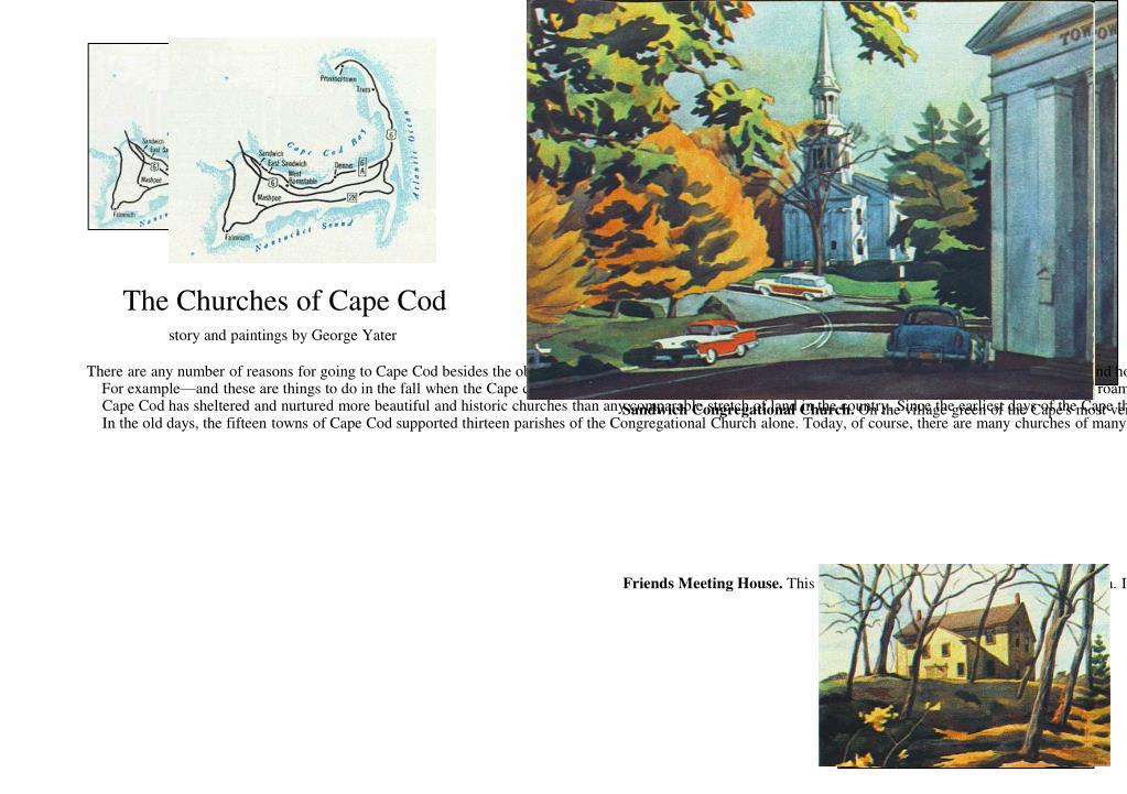 The Churches of Cape Cod